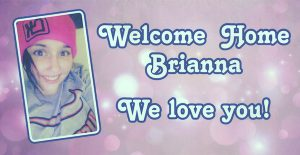 Breanna Kinneman's welcoming home.