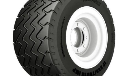 Flotation Tire Offers Two Steps Up for Protecting Fields
