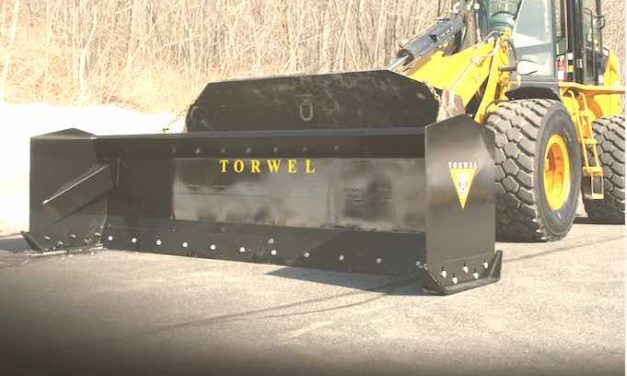 Move More Snow In Less Time With Torwell's New Snow Pusher