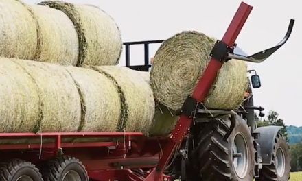 New Bale Mover Single-Handedly Clears Fields [VIDEO]