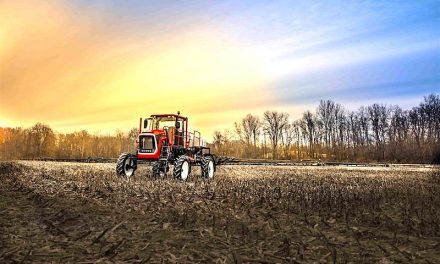 Compact, Affordable Self-Propelled Sprayer