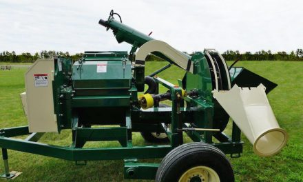 Hammermill and Forage Blower, All In One Unit