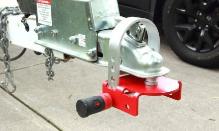 Keep Thieves from Stealing Your Trailer with this New Coupler Lock
