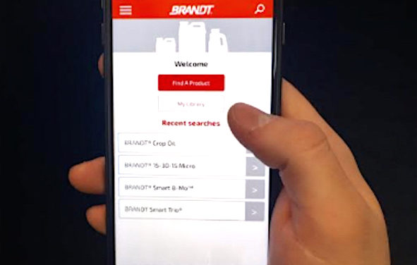 Product Finder App for iOS and Android Devices for BRANDT's Offerings