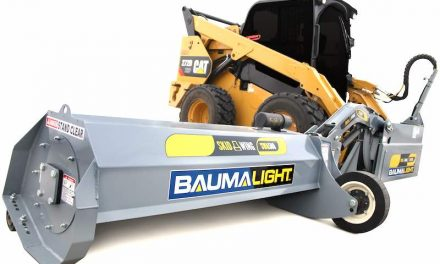 Skid Steer Boom Mower for Heavy Grass, Brush Mulching [VIDEO]