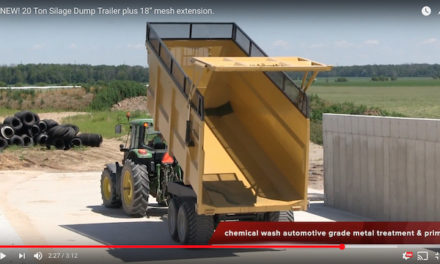 "Heavy-Duty 20-Ton Silage Dump Trailer Built ""Berkelman"" Tough"