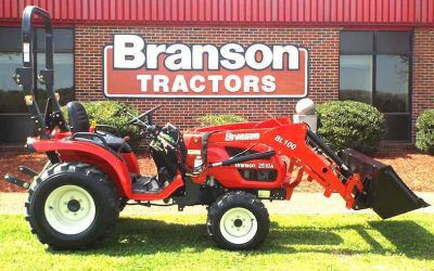Branson Tractor Adds 10 Series Tractors to Their Lineup
