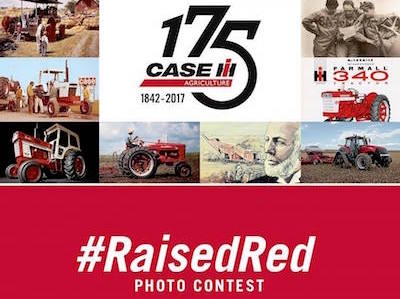 Case Kicks Off #RaisedRed Photo Contest to Celebrate 175th Anniversary
