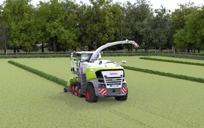 Track Technology from Claas Extended to Forage Harvesters