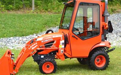 All-Steel Cab for 2018 Kubota BX80 Sub-Compact Tractors
