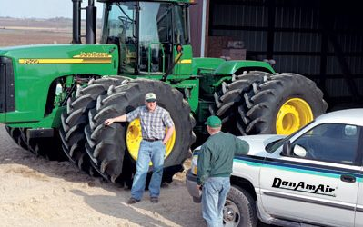 Run Large Impact Wrenches, Tire Machines and More With a New or Upgraded Compressed Air System