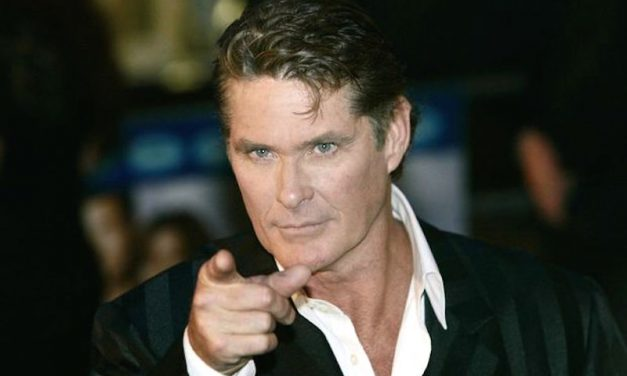 "A Word About Chest Hair: Is David Hasselhoff the ""Last bastion of manhood?"" [HUMOR]"