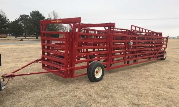 Heavier-Duty Portable Corral Introduced by Diamond W