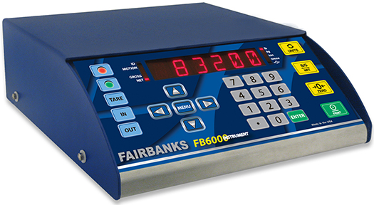 Updated Interface on Fairbanks FB6000 Scale Improves Performance