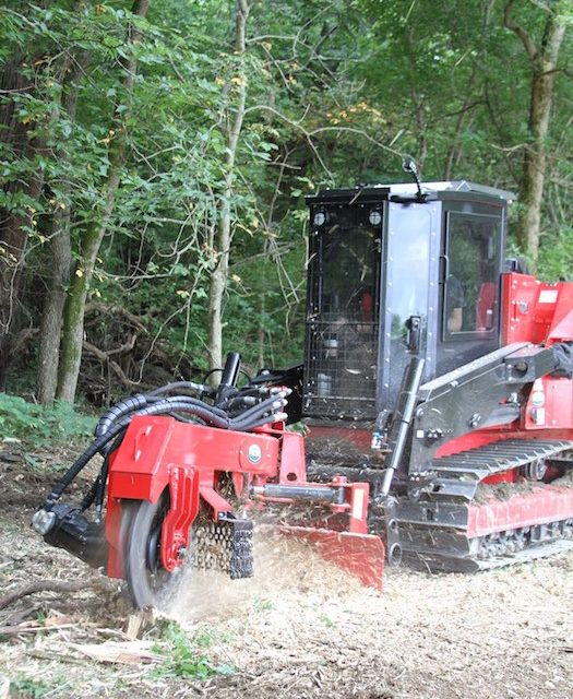 New SH280 Stump Hog for Fecon's FTX128 Track Carrier