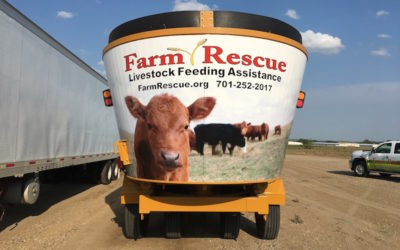 Giving Back: Haybuster Helps Farm Rescue's Livestock Feeding Assistance Program