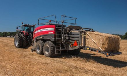 "The World's First Class 8 Baler Made for ""Ultra High Expectations"""