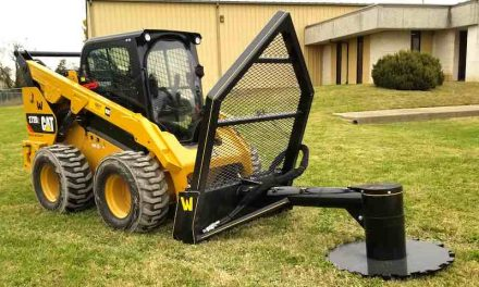 Cut Trees, Trim Limbs and Grind the Stumps with One Attachment