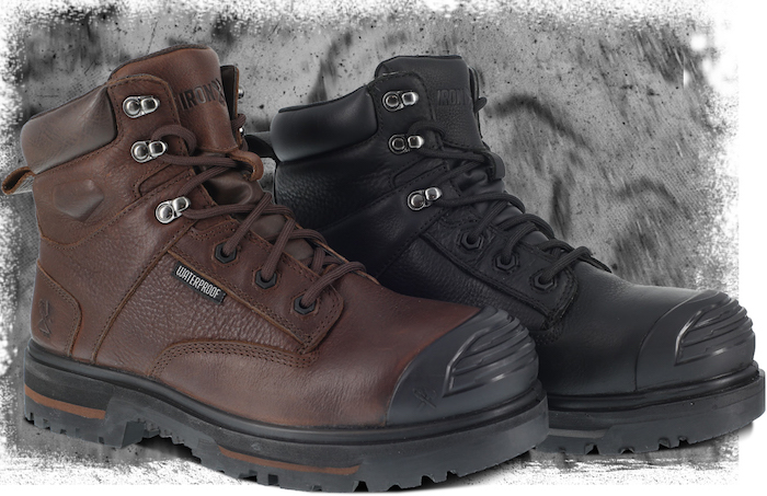 "New ""Old School Tough"" Work Boot Series from Iron Age Footwear"