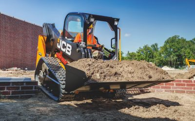 JCB Unveils New 210T and 215T Compact Track Loaders