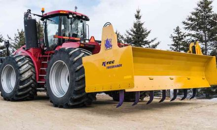 3-Point Hitch Box Blade for 500+ HP Tractors Introduced by K-Tec