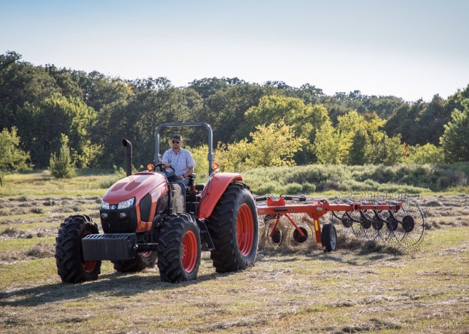 Open-Station Model Unveiled for Kubota's Popular M6S Series