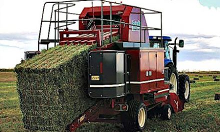 Do the Work of Three Balers with the New Bale Baron