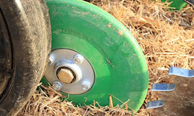 Needham Ag's New V8 Firming Wheel With Urethane Tire [VIDEO]