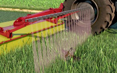 Keeping Young Deer Safe: Sensor Developed to Automatically Lift Mower to Avoid Injuring Fawns in Grass