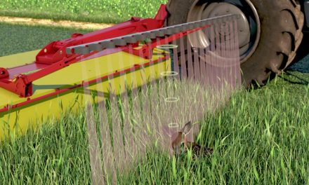 Keeping Young Deer Safe: Sensor Developed to Automatically Lift Mower
