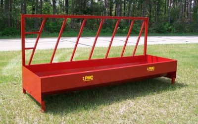 Flexible Cattle Feeding With Fence Line Bunk Feeders