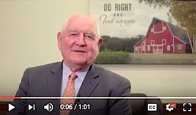 Perdue Talks About the Tradition of National Ag Day/Week
