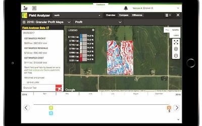 New Profit Maps Farm Management Tool by Deere & Granular