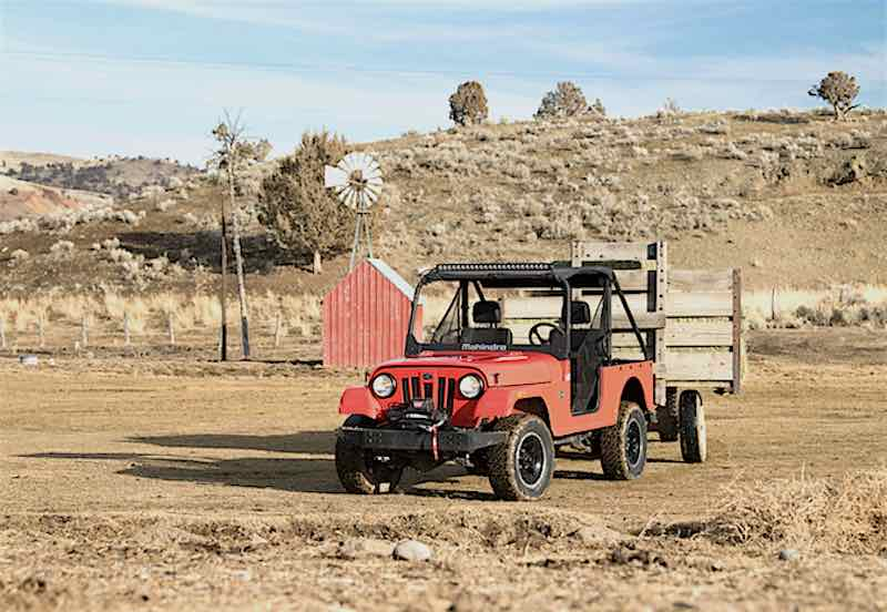 New Heavy-Duty UTV Features Military-Grade Construction