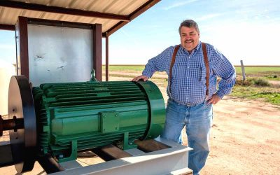 Taking a Closer Look at the Only Large HP Single-Phase Motors for the Ag Industry