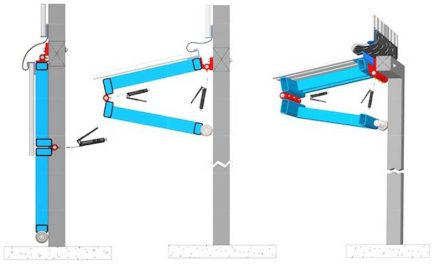 New Greaseable Bifold and Hydraulic Door Hinges from Schweiss