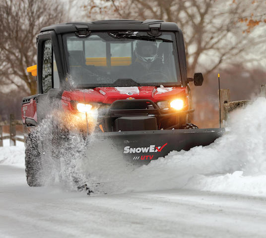 UTV Straight Blade Plow Introduced by SnowEx®