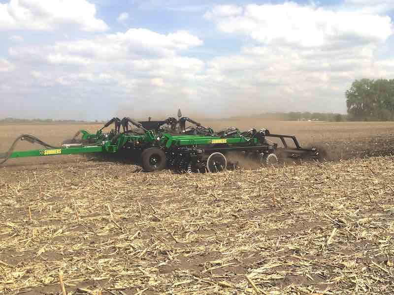 Summers' VRT Renegade Tillage Tool With New Implement Control