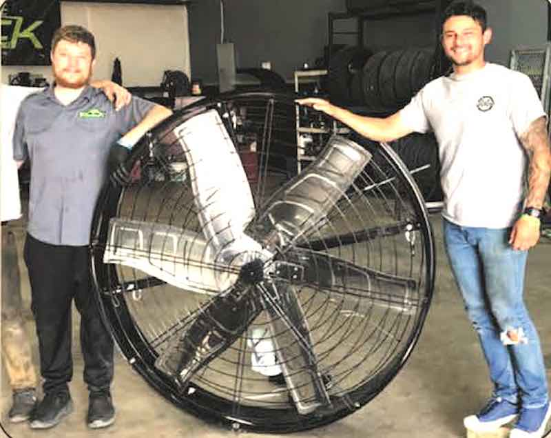 Unique Fans Cool Large Spaces Without Breaking the Bank