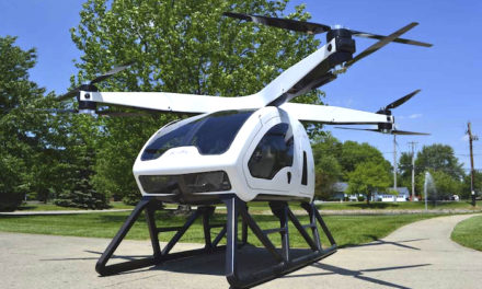 First Manned Flight of SureFly™ Electric Hybrid Octocopter Announced