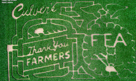 """33 """"Thank You Farmers"""" Mazes Have Been Grown Nationwide Since 2014"""