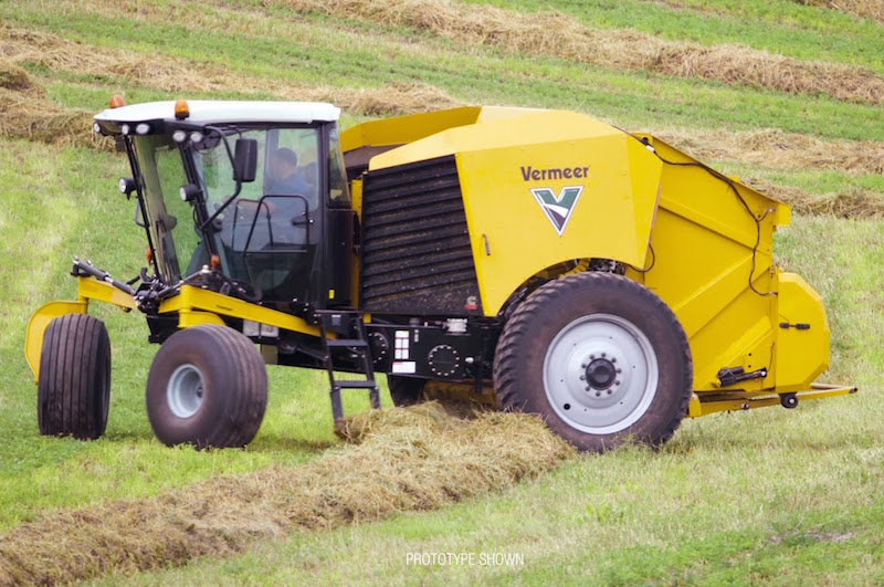 The World's First: A Self-Propelled Round Baler from Vermeer