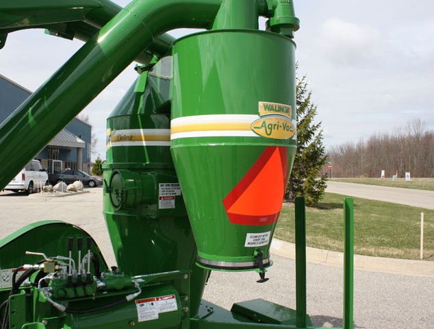 Grain Blower System : How one person grain handling capability is possible