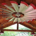 Cool Down in Rustic Style with the Original Windmill Ceiling Fans