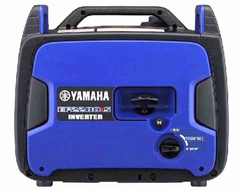 High Power Meets Bold Features: Yamaha's All-New Portable EF2200iS Generator