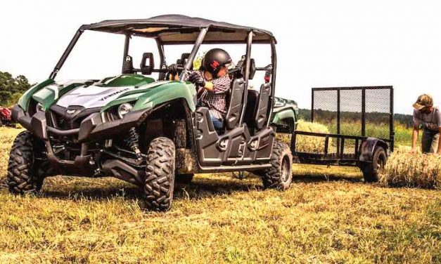 Put Work Out to Pasture with a YANMAR BULL Series UTV