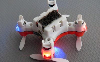 Robotic Bees? Scientists Create a Drone to Release Pollen Grains