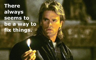 Everybody, Farmers Included, Does Things MacGyver Would NOT Do…