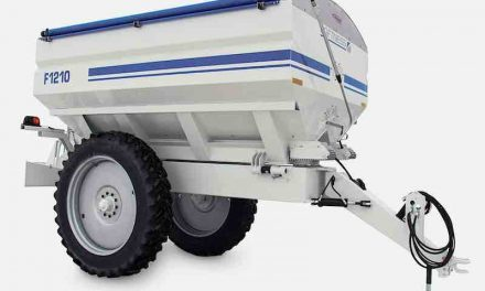 12-Ton Spreaders for Fertilizer, Lime Applications introduced by Loftness