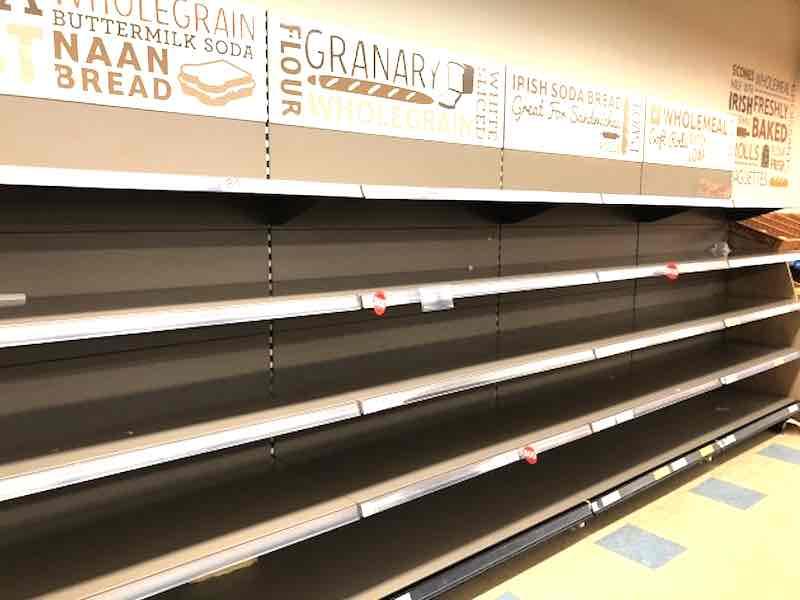 "Snowstorm Warning Panic: Emptied bread shelves and other scarey ""Snowpocalypse"" threats [HUMOR]"